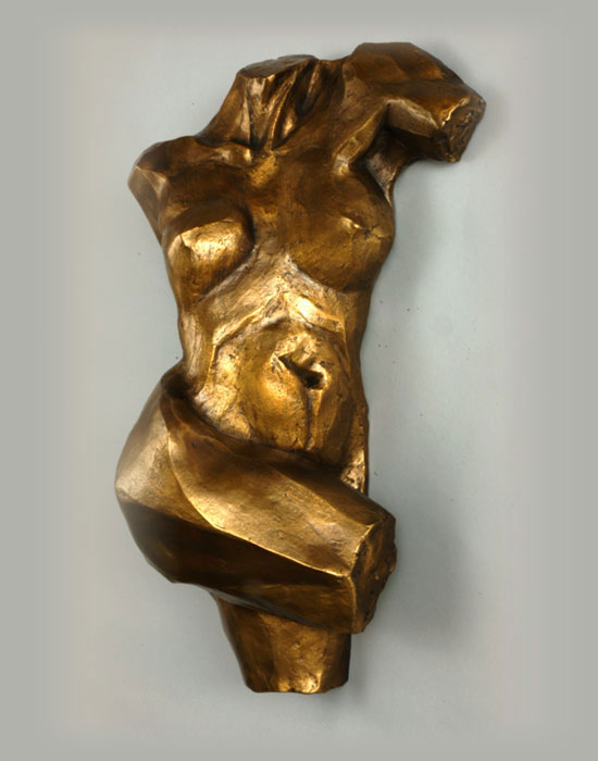 Aurora bronze sculpture by David Varnau