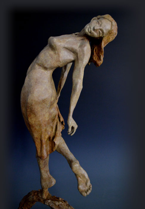 Dance for Joy bronze sculpture by David Varnau
