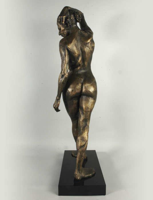 Firedancer bronze sculpture by David Varnau