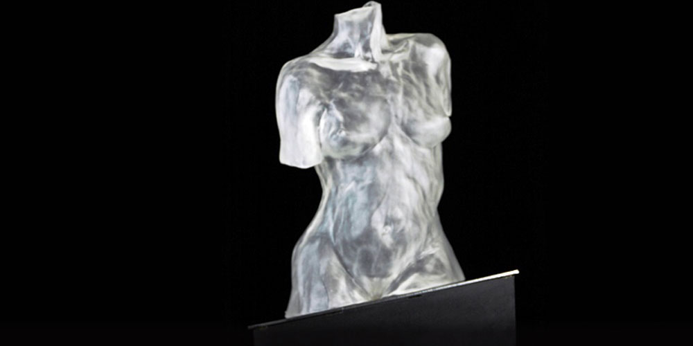 Allure glass sculpture by David Varnau