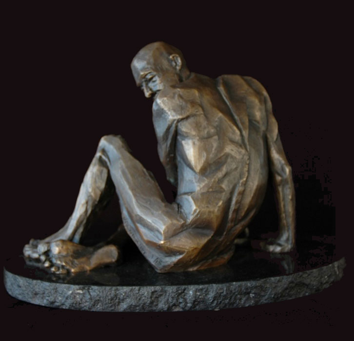 Invictus bronze sculpture by David Varnau