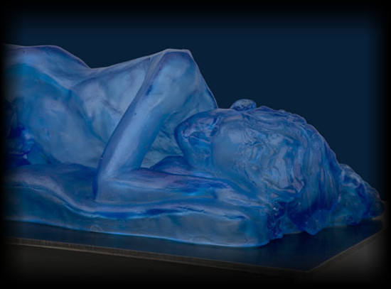 Nocturne glass sculpture by David Varnau