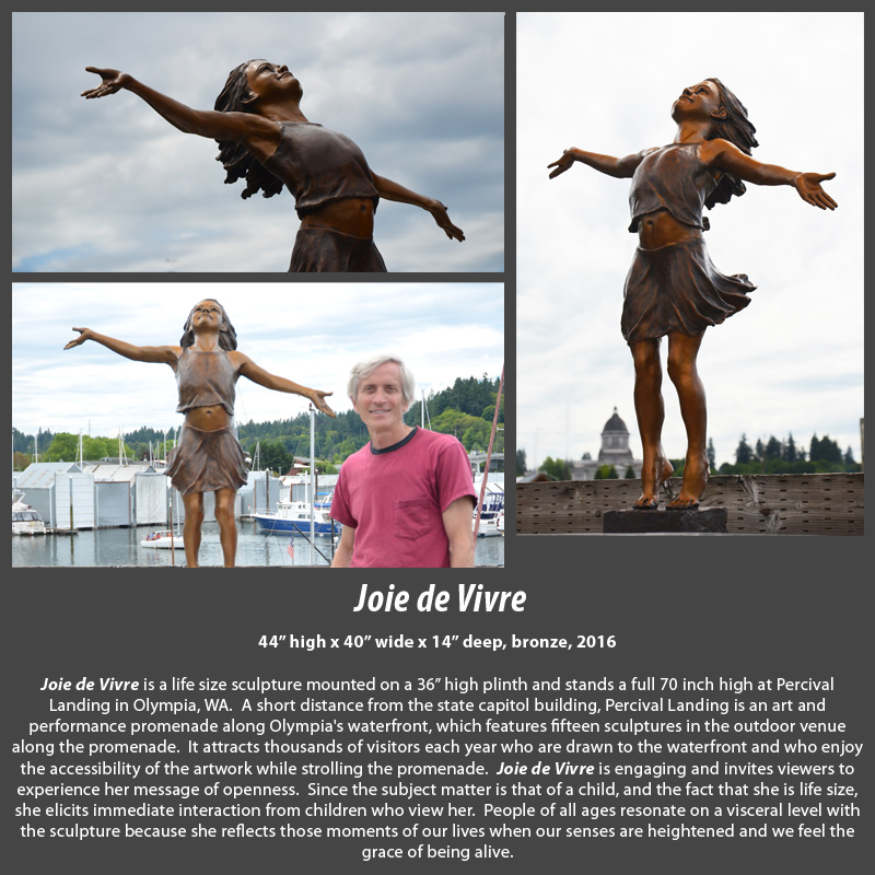 Joie de Vivre at Percival Landing in Olympia WA