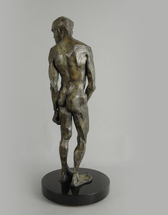 The Victor bronze sculpture by David Varnau